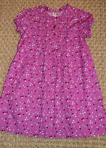 Toddler Girl Clothing Target Cherokee Purple White Polka Dot Dress Sz