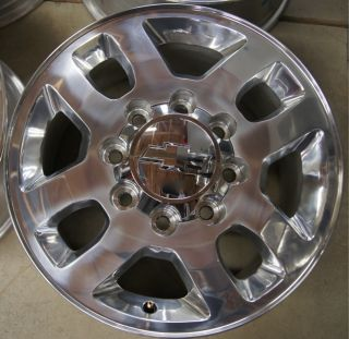 New 2011 12 Chevy Silverado HD 2500 3500 8 Lug 18 Factory Wheels Rims