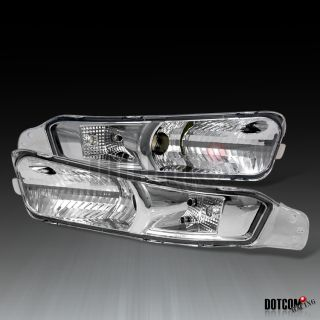 05 09 Ford Mustang GT Clear Signal Bumper Lights Lamp