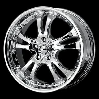 16 Chrome Casino Wheels Rims 5 Lug Nissan Altima Camry Civic Lexus 5x4