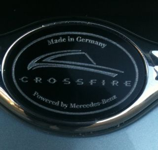 Chrysler Crossfire Wing or Wheel Emblems