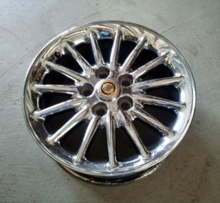 Chrysler Town and Country 99 00 01 16x6 1 2 Chrome Alloy Wheel Rim