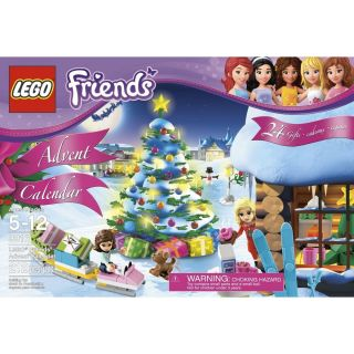 LEGO FRIENDS CHRISTMAS ADVENT CALENDAR 3316 GIRL OLIVIA CHRISTINA DOG