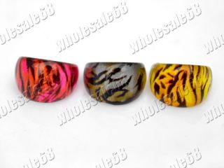lots jewelry mix 80pcs LOVELY resin lucite fashion children ring NEWLY