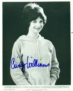 Autographed Cindy Williams PoseMore American Graffiti