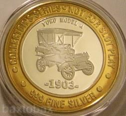 Claridge AC Silver Strike 1903 Ford Model A Classic Car
