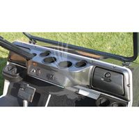 Club Car Golf Cart Custom Carbon Fiber Dash Kit