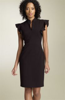Calvin Klein Stretch Crepe Sheath Dress