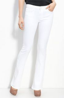 J Brand Janey Slim Bootcut Jeans (Snow Wash)
