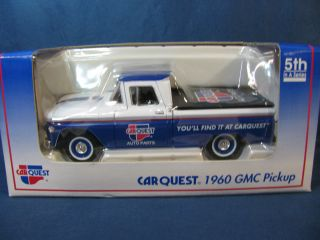 Collectible Vintage DieCast Toy Truck 1960 GMC PickUp Carquest 5th in