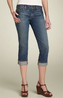 Lucky Brand Cuff Crop Stretch Jeans