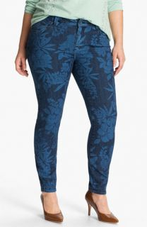 Lucky Brand Ginger Print Skinny Jeans (Plus)