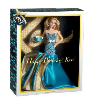 Barbie Collector Happy Birthday Ken Glamour Barbie Doll by Mattel