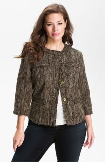 MICHAEL Michael Kors Westport Tweed Jacket (Plus)