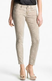 Lucky Brand Charlie Print Skinny Jeans (Online Exclusive)