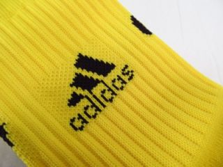Adidas MLS Extreme Cushion Soccer Socks Columbus Crew Yellow Kit