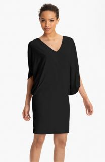Nicole Miller Double Batwing Jersey Dress