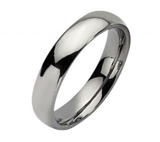 Steel by Design Stainless Steel 5mm Polished Ring —