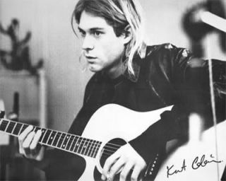 Kurt Cobain Poster Nirvana Grunge Icon Play Guitar New