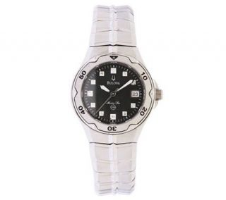Bulova Ladies Marine Star Diamond Accent Dial Watch —