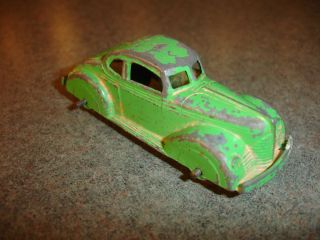 Old Vtg Antique Collectible Diecast 231 Tootsietoy Toy Car Made in USA