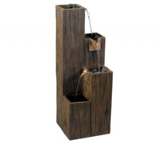 Kenroy Home Timber Indoor/Outdoor Floor Fountain —
