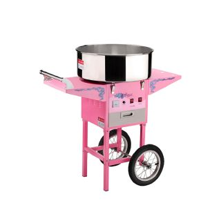 Popcorn Commercial Cotton Candy Machine Floss Maker Electric