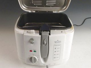 Rival Cool Touch Deep Fryer CF151 W