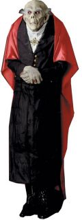 Count Dracula Lifesize Haunted House Halloween Prop Yard Door Garden