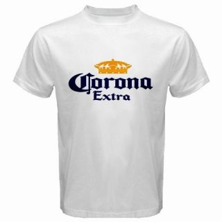 Corona Beer Logo New White T Shirt