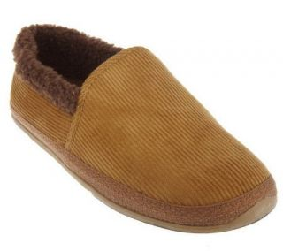 Deer Stags SLIPPEROOZ Mens Corduroy In/Outdoor Slippers —