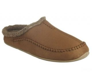 Deer Stags Slipperooz Mens In/Outdoor Microsuede Clog Slipper