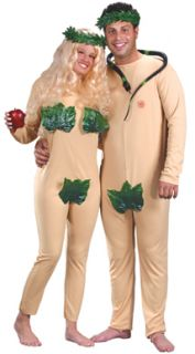 adam eve couples halloween costume