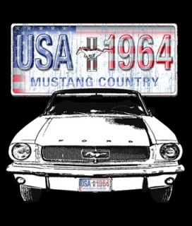 Licensed Ford Tshirt Mustang Country Cobra GT500 Shelby SVT Torino GT