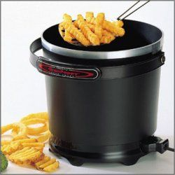 details the electric deep fryer fries 6 generous servings with just 6