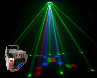 CHAUVET CUBIX MULTI COLOR CENTERPIECE LED DMX DJ LIGHTING EFFECT BRAND