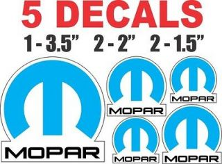 Dodge Mopar Chrysler Plymouth Decals   Nice