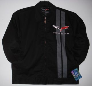 CHEVROLET CORVETTE RACING MECHANIC EMBROIDERED JACKET JH DESIGN