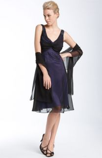 Patra Chiffon Overlay Dress with Wrap