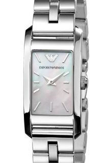 Emporio Armani Ladies Rectangle Case Watch