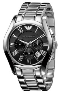 Emporio Armani Stainless Steel Chronograph Watch