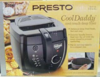 Presto 05442 Cooldaddy Electric Deep Fryer $100