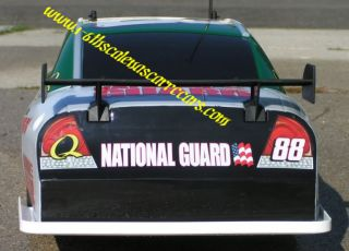 Up International NASCAR RC Car Body Shell 88 Dale Jr Amp Energy