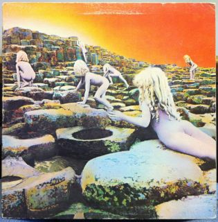 LED Zeppelin Houses of The Holy LP VG RL Sterling Bob Ludwig 1973 SD