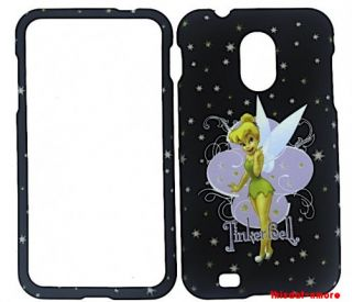 Tinkerbell Black Hard Case Cover Samsung Epic 4G Touch Galaxy S2