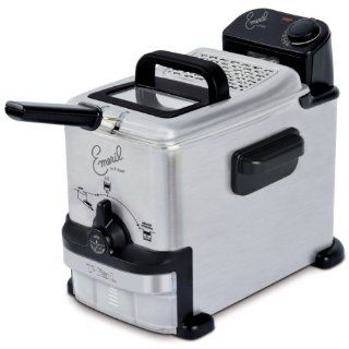 Emeril Deep Fryer with Integrated Oil Filtration System