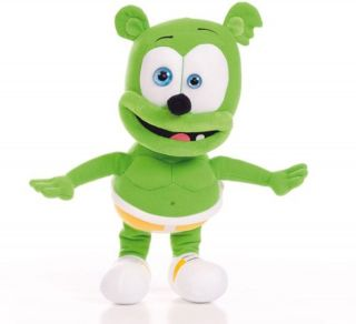 GUMMIBAR THE GUMMY BEAR OFFICIAL STUFFED PLUSH TOY NEW NO SOUND