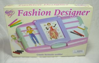 Fashion Designer Plates Play Set by Pretty Girl Boxed