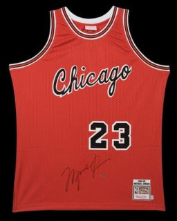 Michael Jordan Signed Bulls Rookie Circa 1984 85 M N Authentic Jersey