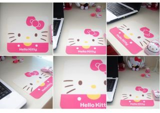 hello kitty PC Laptop Computer mouse mat mousepad_rectangle white